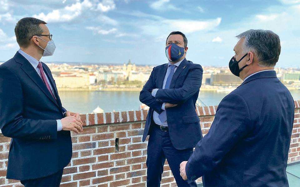 Nova família de extrema-direita europeia tem fissuras na liderança