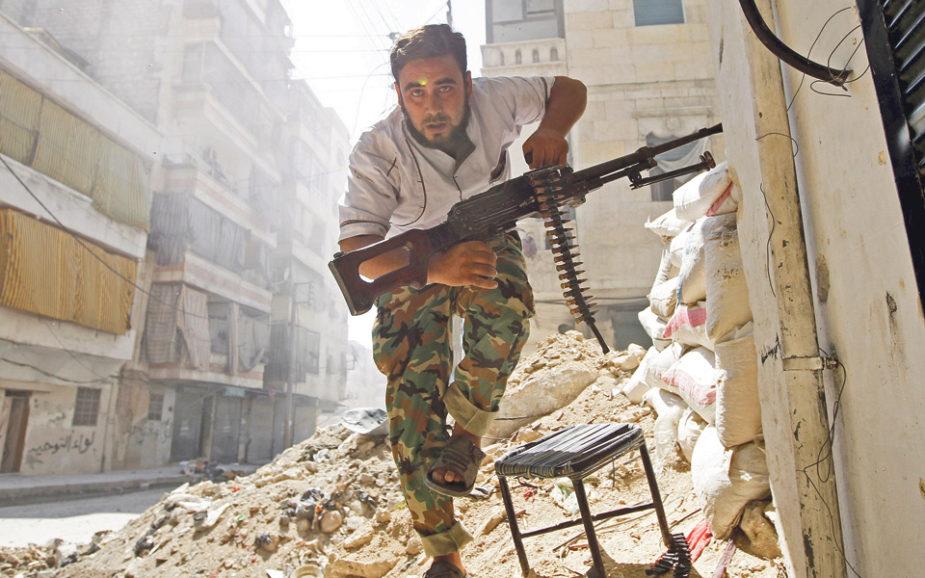 Os interesses em jogo na longa guerra civil no Médio Oriente
