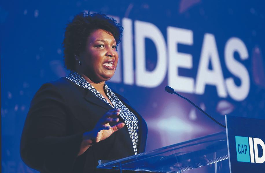 Stacey Abrams: A democrata  que mudou a cor  do eleitorado  da Georgia