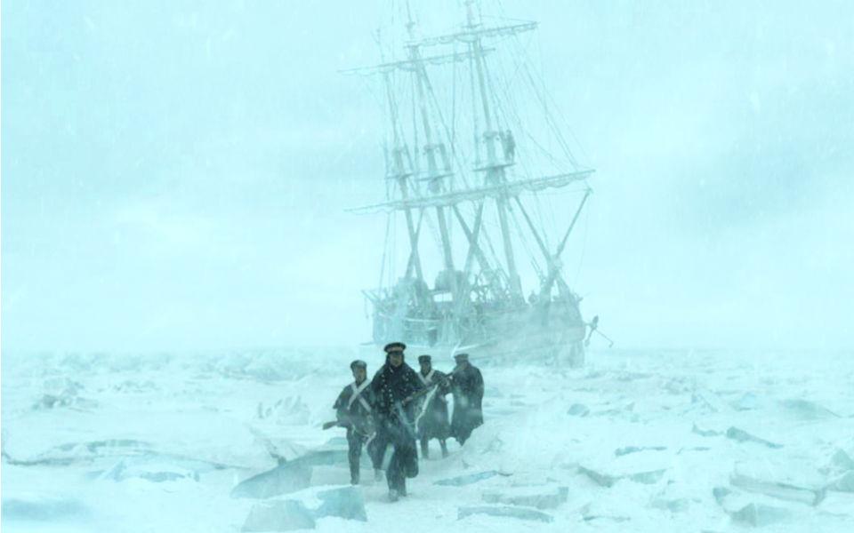 The Terror Passagem para o fracasso no gelo