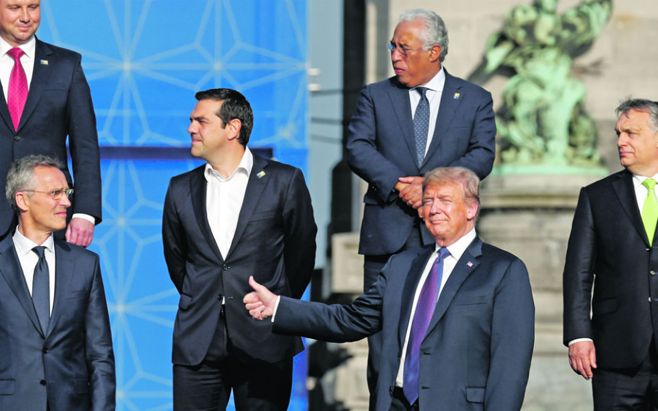 Trump regressa a casa com uma vitória na cimeira da NATO
