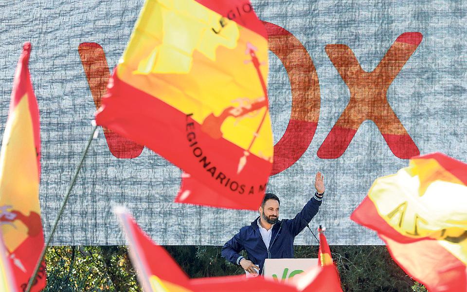 Extrema-direita ao assalto da direita em Espanha
