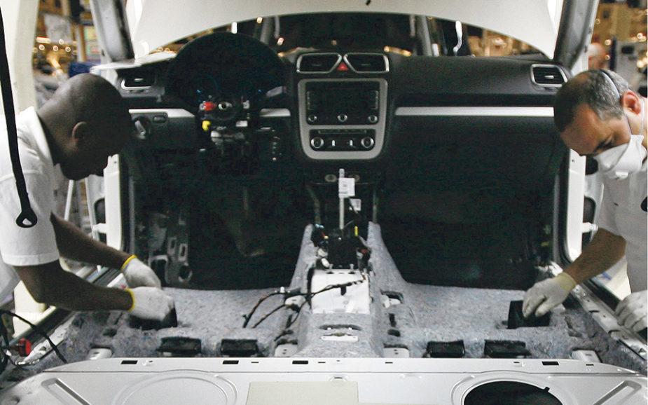Autoeuropa vai ter recorde de produção e emprego em 2018
